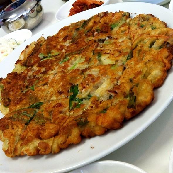 Seafood Pancake @ Andy's Tofu House