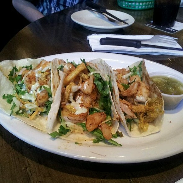 fish tacos @ Six Feet Under Pub & Fish House