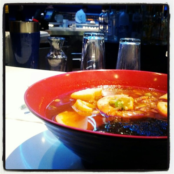 Spicy Seafood Ramen @ Deep Blue