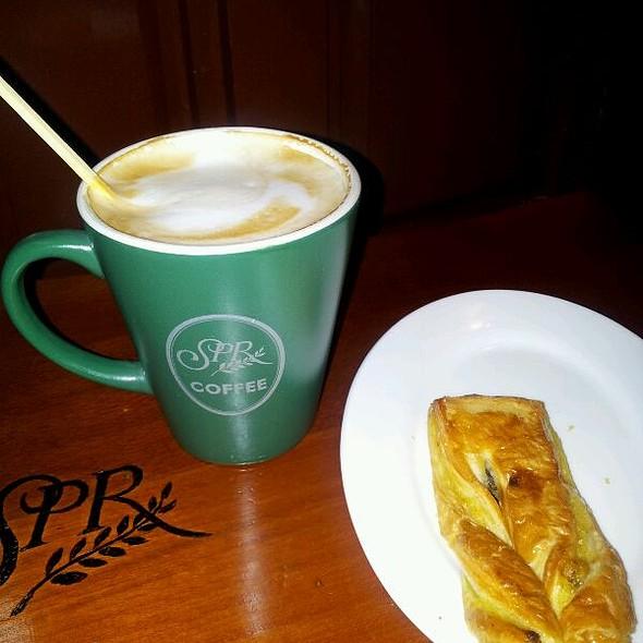 Cafe Latte @ Chinggis Khaan Airport