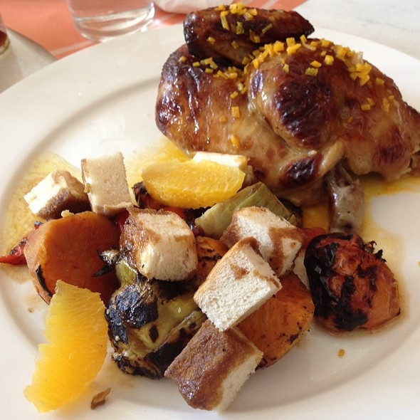 Roasted Chicken With Panzanella