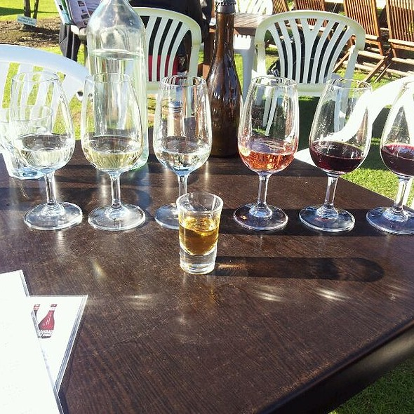 Wine And Rum Tasting