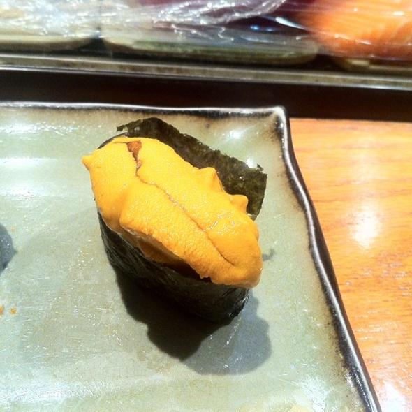 Uni @ Doozo Japanese Restaurant