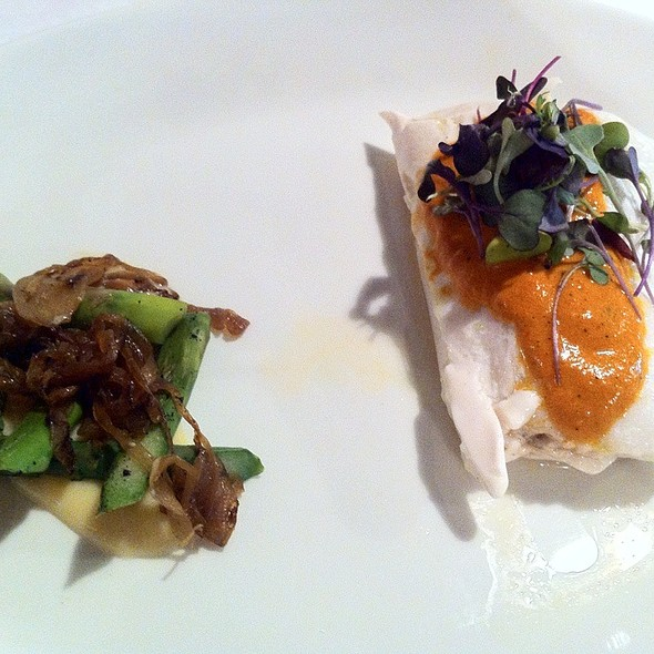 Halibut @ Le Cordon Bleu College of Culinary Arts in Chicago