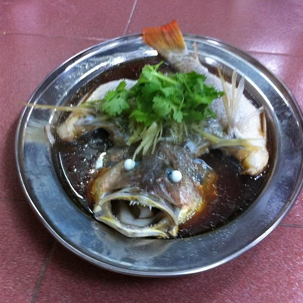 Steamed Jenak Fish @ Fish Village Seafood Sdn Bhd