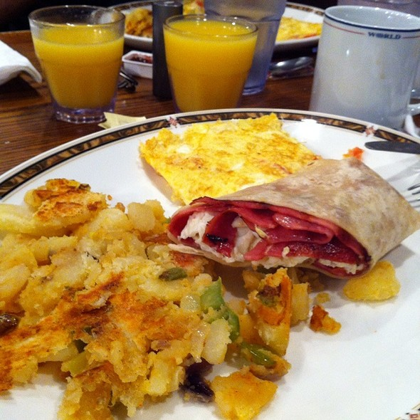 American Breakfast @ The Dish Cafe