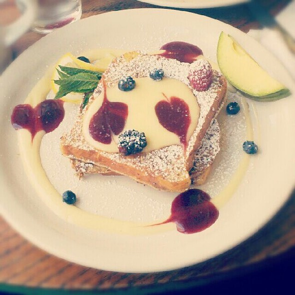 Lemon And Raspberry French Toast @ M Henrietta