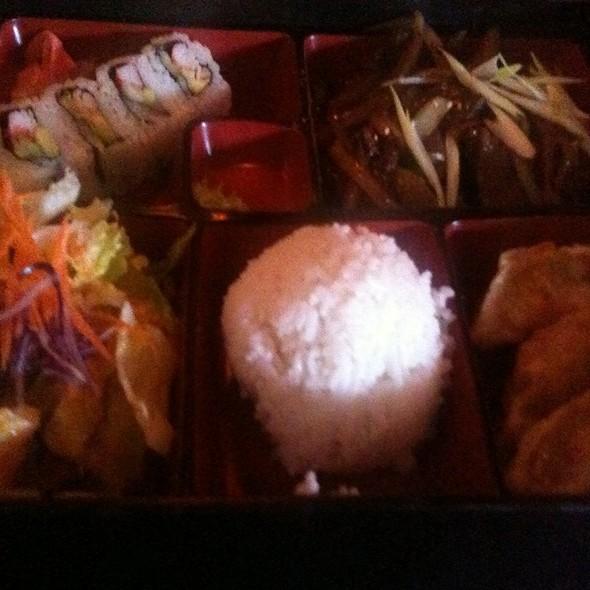 Bulgogi Beef Bento Box @ Seito Sushi: Celebration