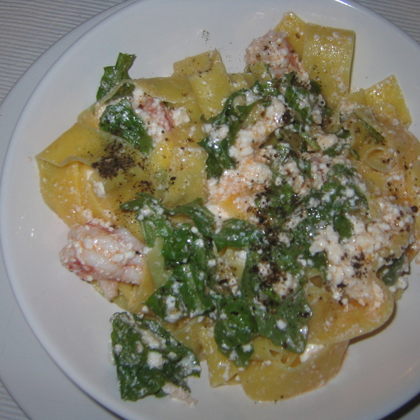 Pappardelle with Langustino @ Tapioles 53