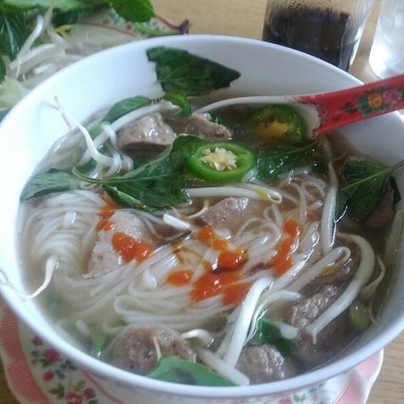 Meatball Phò @ Pho Tay Do