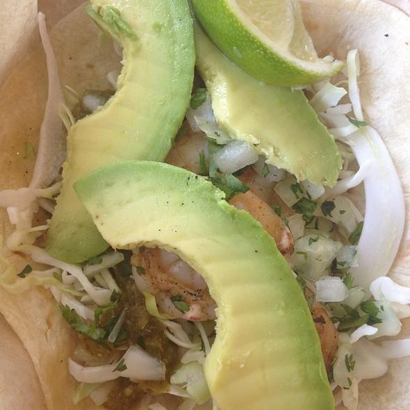 Salsa Verde Pan-Seared Shrimp Taco @ Rubio's Fresh Mexican Grill