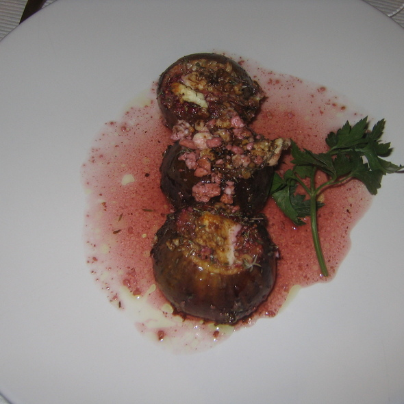 Goat Cheese Stuffed Figs @ Tapioles 53
