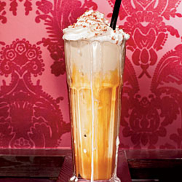 Maker's Mark–laced Salty Caramel shake  @ 25 Degrees Chicago