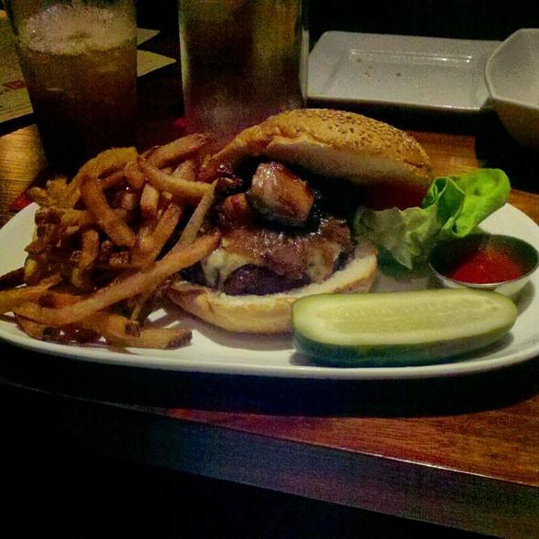 Burger with Foie Gras @ Square Peg