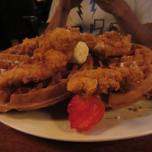 Chicken & Waffles @ Brick House Tavern + Tap
