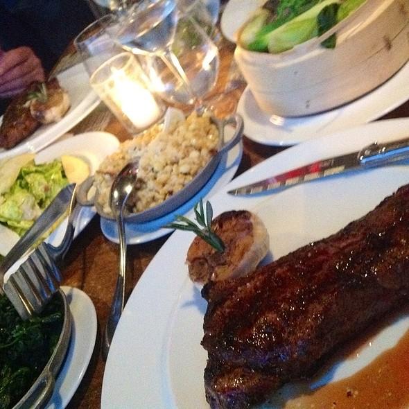 40 Day Dry Aged New York Strip @ BOA Steakhouse
