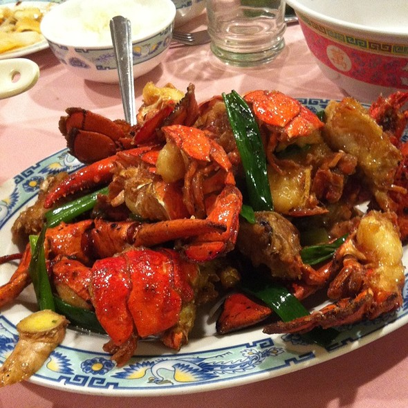 Stir-fried lobster @ Peach Farm Restaurant