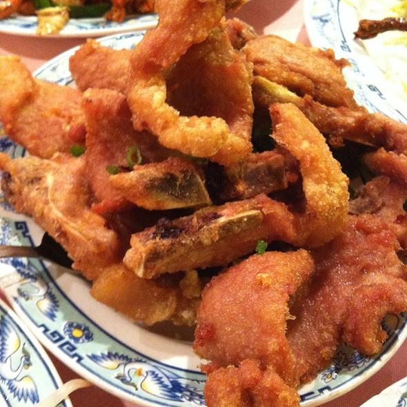 Pan Fried Pork Chops @ Peach Farm Restaurant