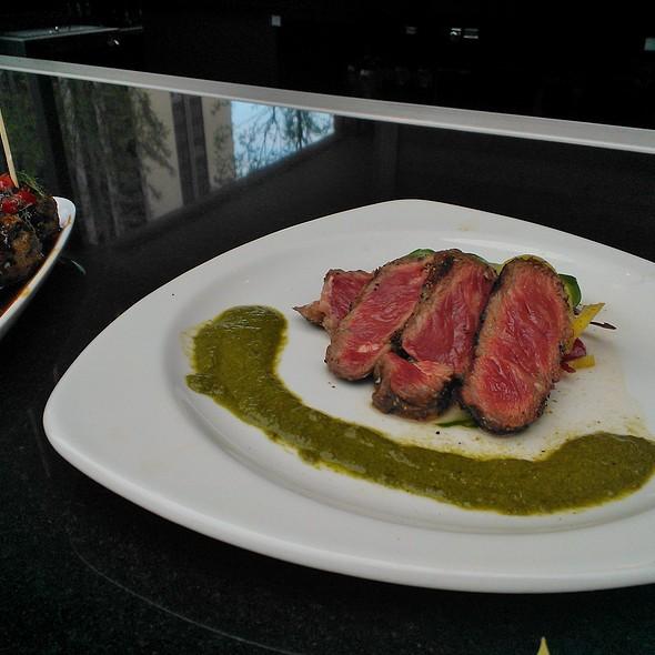 Sliced Steak @ III Forks Chicago