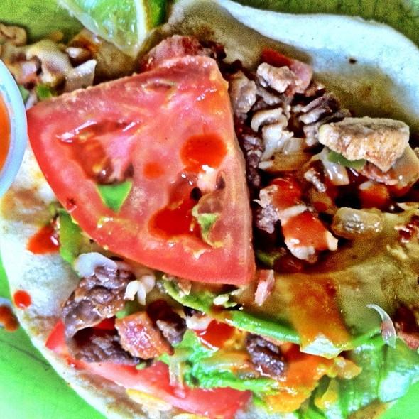 Tacos Alambres @ El Aztaco