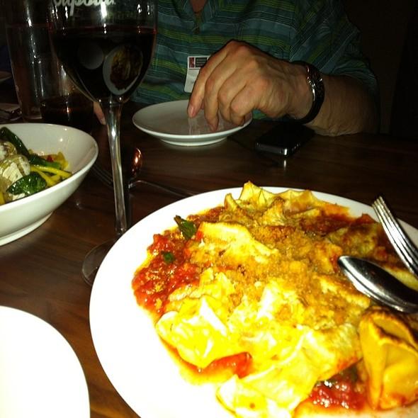 Hankerchief Pasta @ Cupola Pizzeria