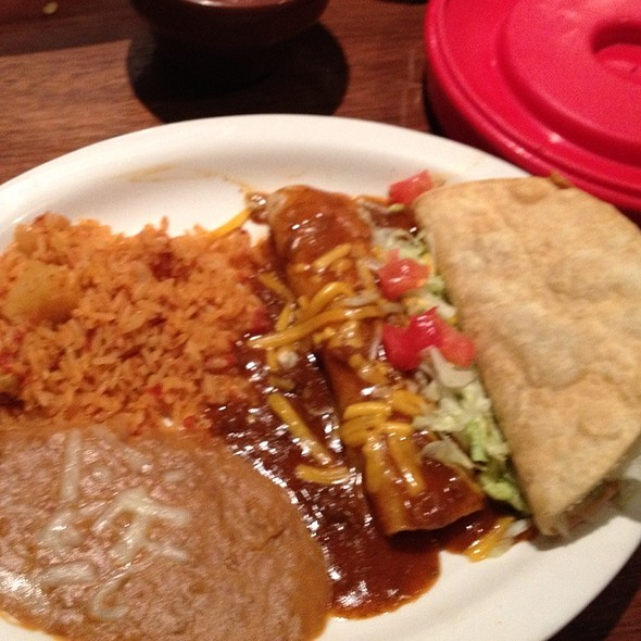 Enchilada & Taco Lunch Plate