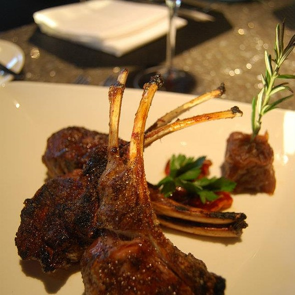 Lamb Chop - Nick and Nino's Penthouse Steakhouse, Springfield, IL