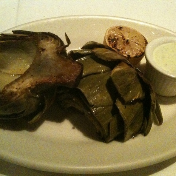Grilled Artichokes @ Buckeye Roadhouse