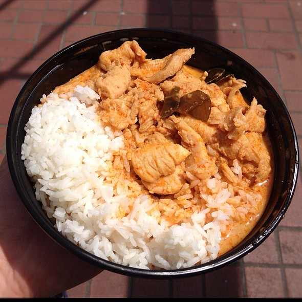 Panang Curry Chicken @ Thai Curry Simple