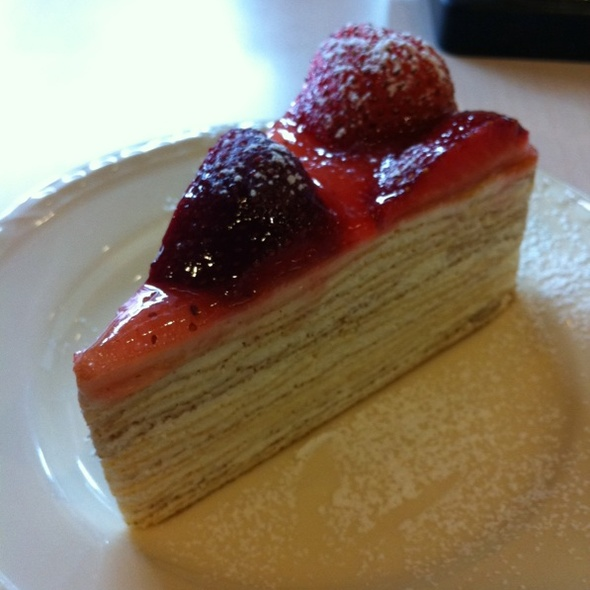 Strawberry Crape Cake @ After You