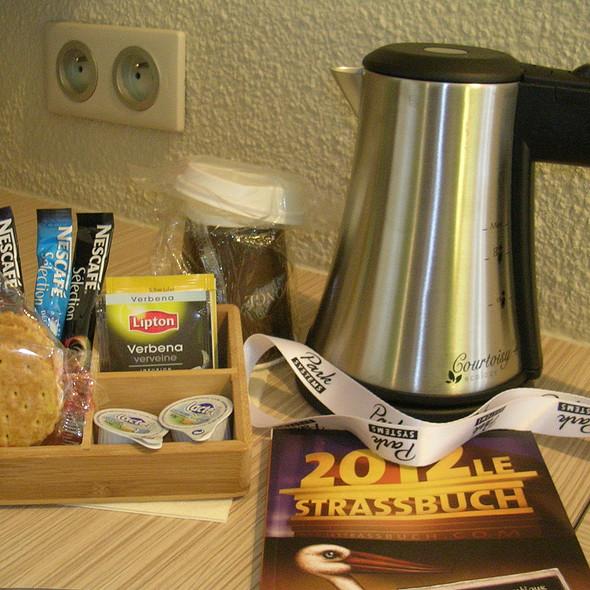 Courtesy Tea Facilities @ Kyriad Prestige