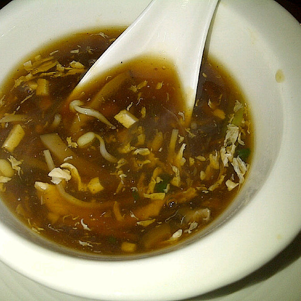 Hot & Sour Chicken Soup @ Mainland China Restaurant