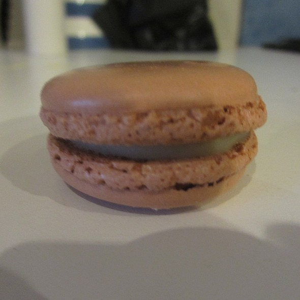 White Chocolate Macarons French Pastry @ Belle's Patisserie