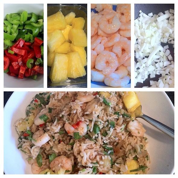 Thai Pineapple Rice @ Louise's Lovely Larder