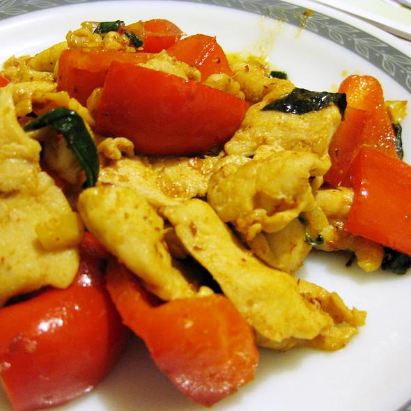 Chicken Stir Fry with Thai Chili Paste