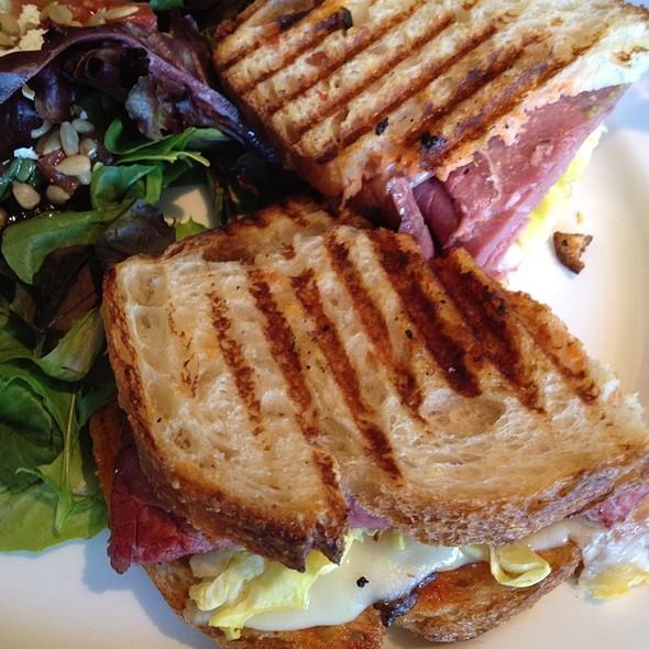 Pastrami Reuben Sandwich @ Zanzibar Cafe