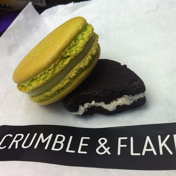 Caipirinha Macaroon  @ Crumble & Flake