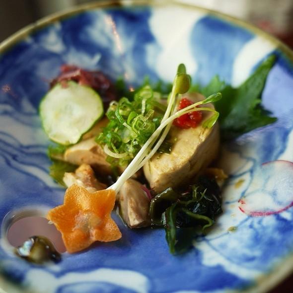Ankimo (Monkfish Liver) @ Japanese Restaurants Hoshi