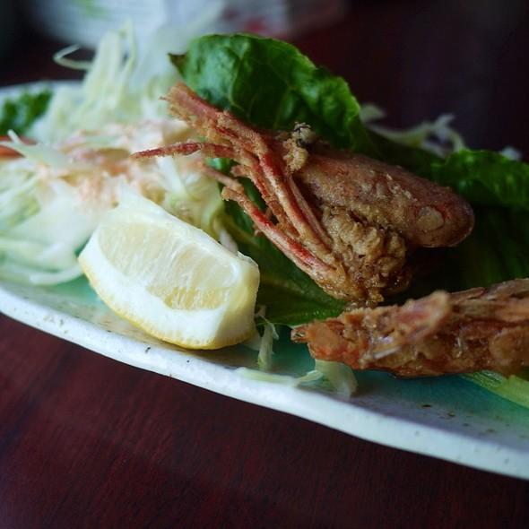 Deep Fried Amaebi Heads @ Japanese Restaurants Hoshi