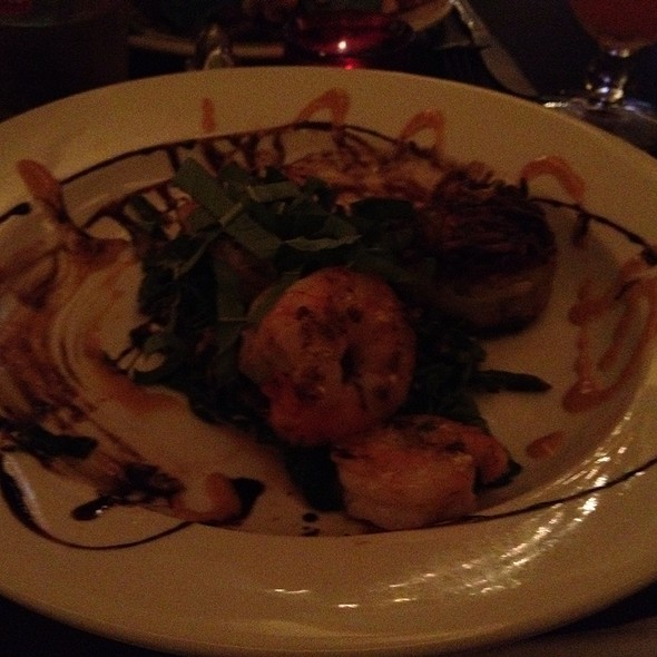 Special: Shrimp, Potato Cake And Bacon @ Bar Antidote