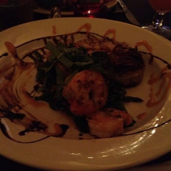 Special: Shrimp, Potato Cake And Bacon @ Bar Antidote