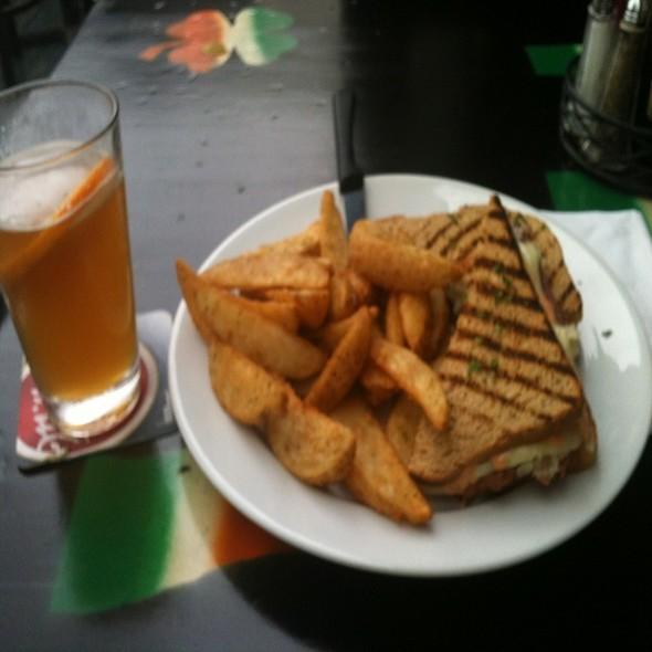 Reuben Sandwich @ The Dog & Duck Irish Pub