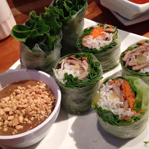 Lemongrass Pork Spring Roll @ Mint Leaf Vietnamese Restaurant