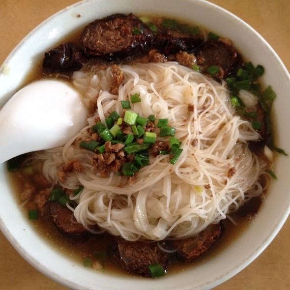 Roasted Sausage With Vermicelli 三間豬肉丸 (燒腸米粉湯) @ Win Heng Seng Restaurant
