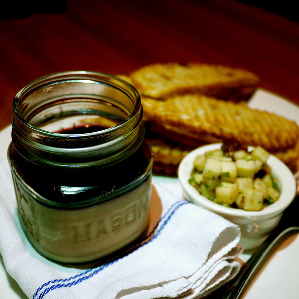 Jar Of Chicken Liver Mousse @ Westside Tavern