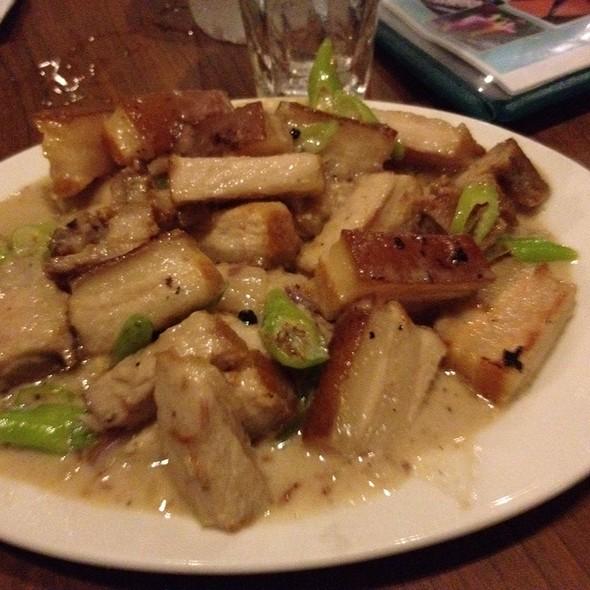 Pork Bicol Express @ Leslie's Bulaluhan