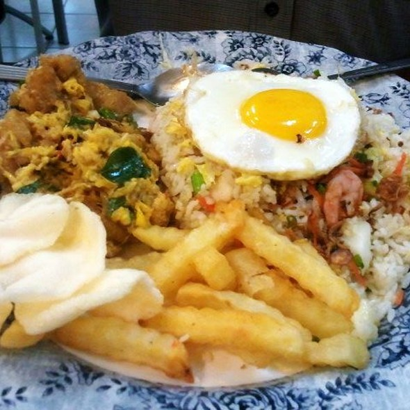 Fish Butter Milk Fried Rice @ Restoran Murni Discovery (USJ)