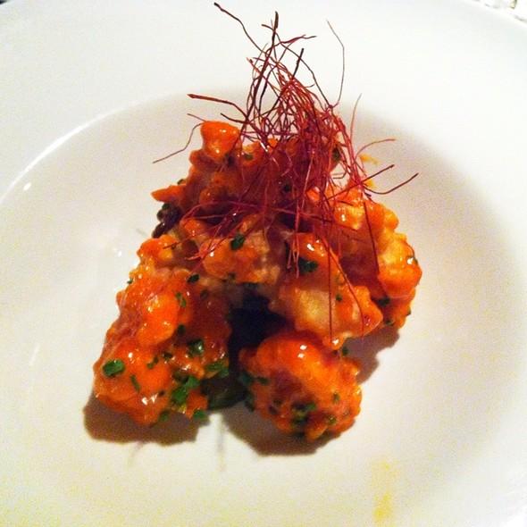 Lobster Tempura, Spicy Yuzu Aïoli, Cucumbers  @ Garden At the Cellar