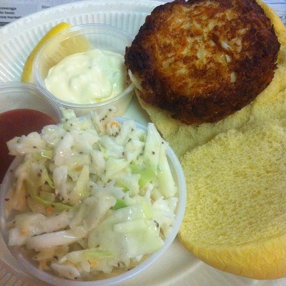 Crab Cake Sandwich @ Bethesda Crab House