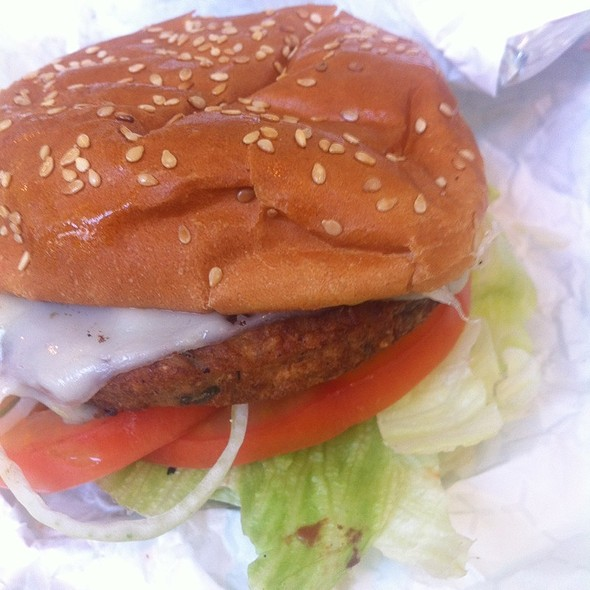 Veggie Burger With Cheese